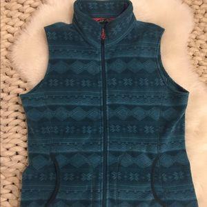 Woolrich   Cozy Fair Isle Vest Petite